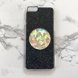 Holographic glitter iPhone 6/6s case